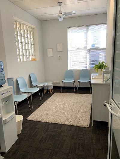 Applecross waiting room